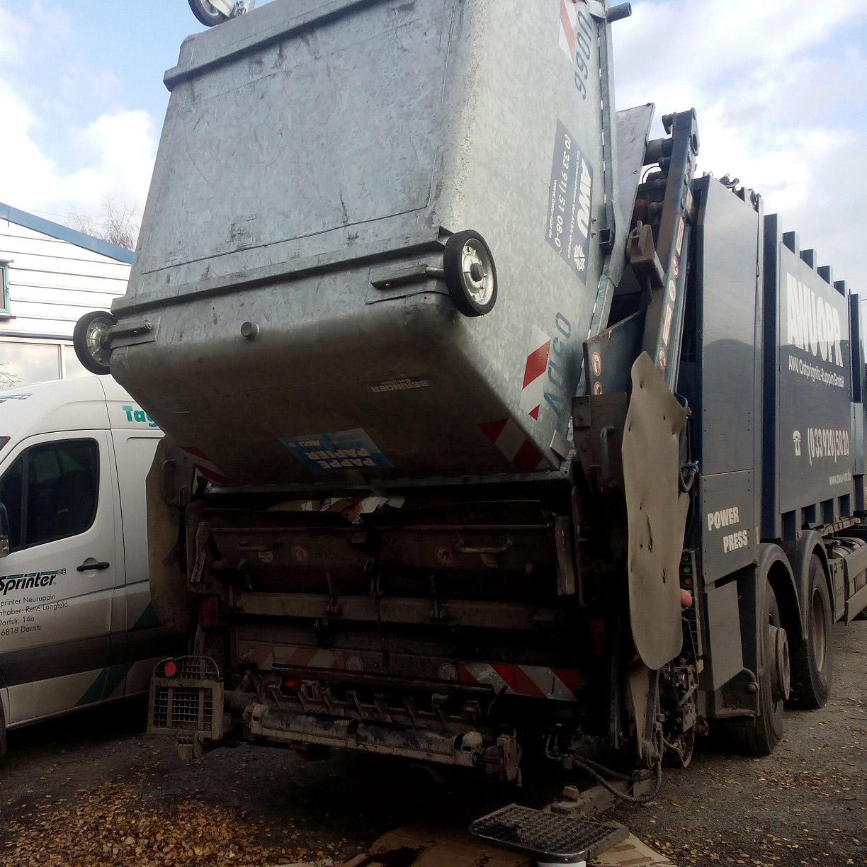 Müllwageneinsatz